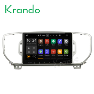 "Krando Android 6.0 10.1"" touch screen multimedia player for kia sportage 2016+ car dvd gps navigation system mirror link KD-K036"