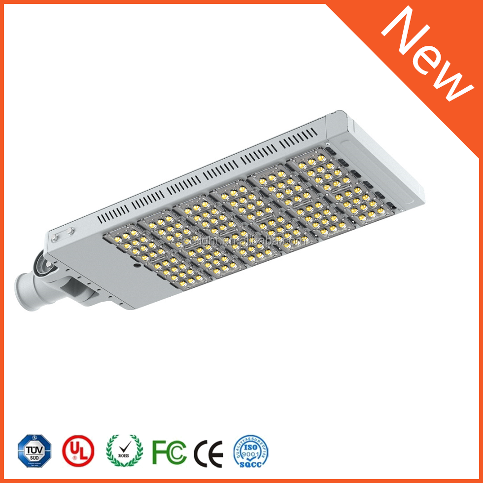 180W led street light pole fixtures/led road light parking lot light for garage