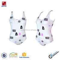 2015 Fashion digital printing Women swimsuit,Digital sublimation transfer print women one piece swimsuits