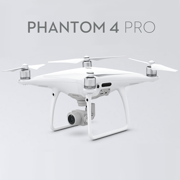 DJI Phantom 4 PRO with longer flight time and smarter features