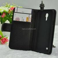 High Quality Case With Card Holder for Samsung Galaxy S4 Mini
