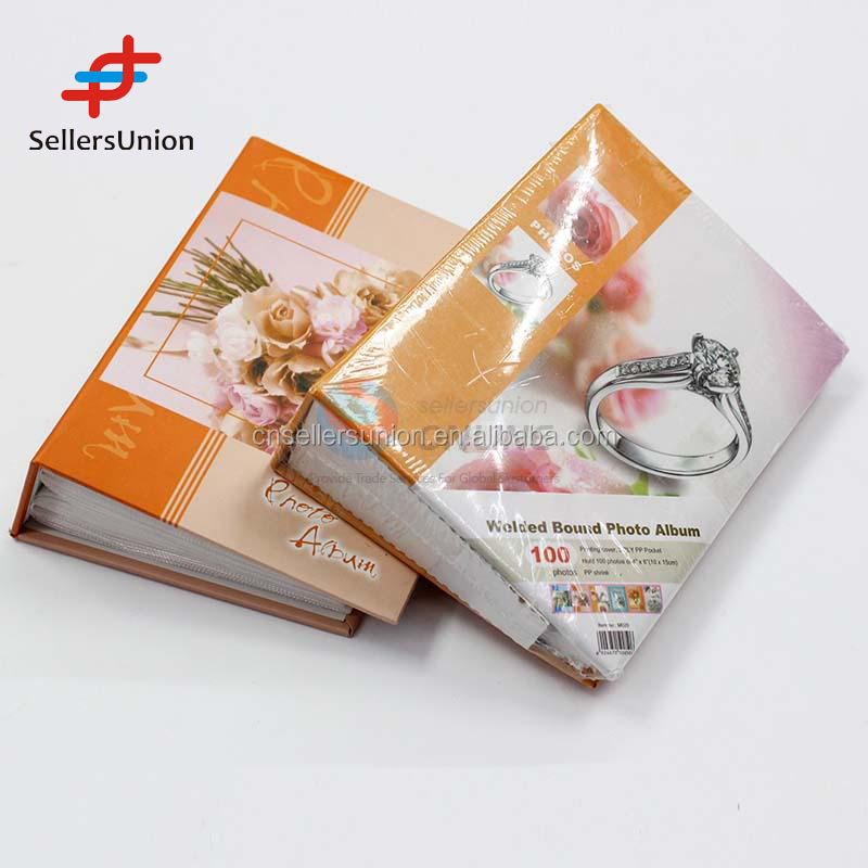 2016 No.1 Yiwu agent hot sale commission sourcing agent 100pages Welded Bound Photo Album