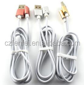 hot selling type-c two-in-one magnetic data cable, triple magnetic data cable