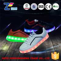HFR-TS54047 light up pu woodland shoes new arrivals for men