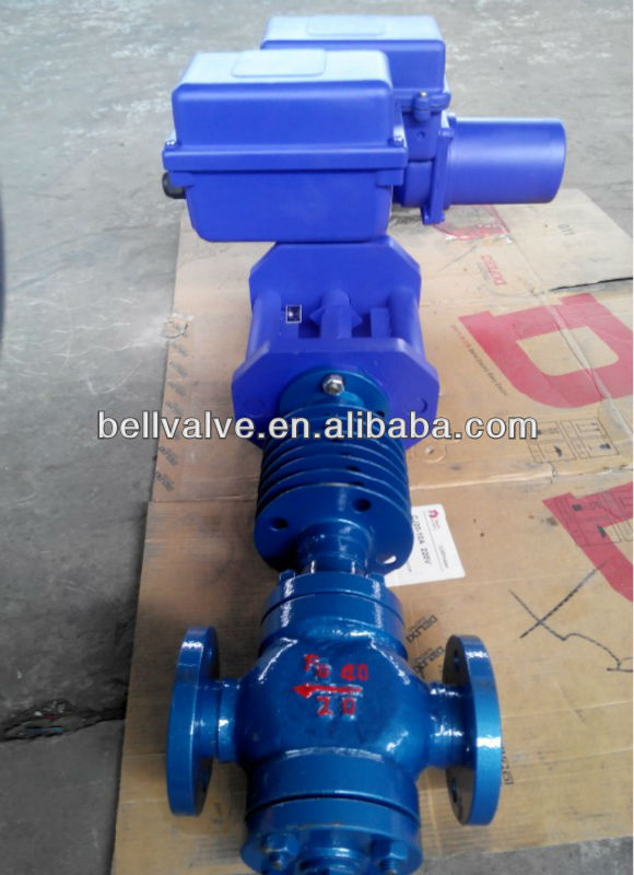 electronic control valve for metallurgy, food, chemical, power...industry