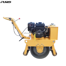 200kg Portable Small Single Drum Vibro Roller (FYL-450)