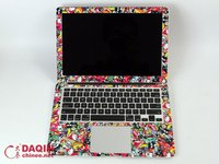 custom laptop sticker skin design software and machine for all laptop and tablet