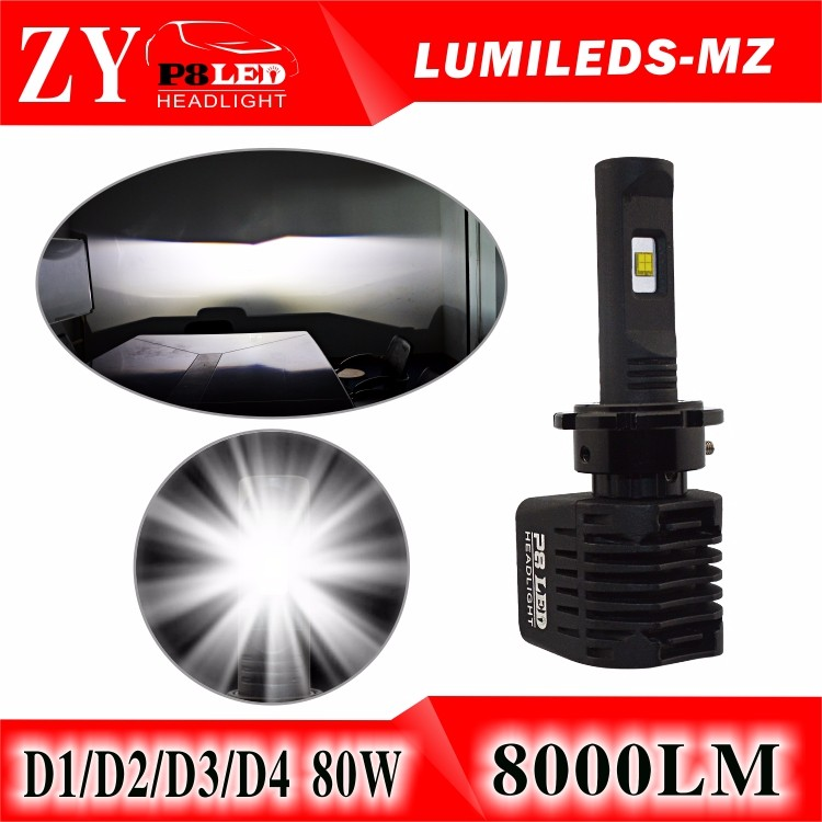2017 New Product d2s 100W led head lights conversion d3s reduce the stock xenon LED lights factory