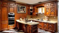 natural ash solid wood kitchen cabinets shanghai