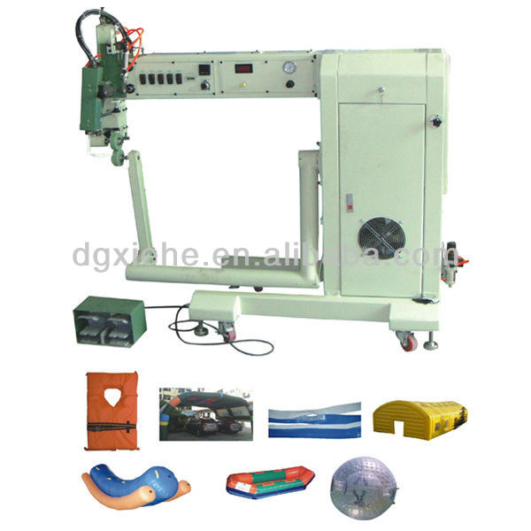 Automatic Hot Air Seam Welder Machine Inflatable/RF PVC Canvas Tarpaulin Welding Device With CE
