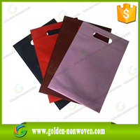 die-cut polypropylene tote bag/pp spunbond shopping bag/pp nonwoven recyclable handbag