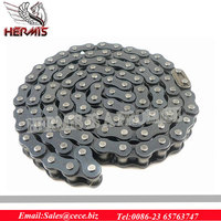 ANSI standard 420 motorcycle chain with individual package for hot sale!!!