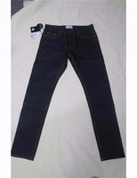 D&S factory dropshipping denim jeans dark indigo blue straight top stitching unwash selvedge Japanese men pants