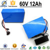 Rechargeable OEM 3.7V 2.0Ah 18650 6P16S 900W li ion battery pack 24V 20ah, 60V12Ah with BMS Charger