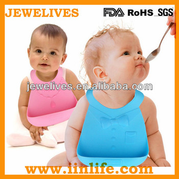 Waterproof kids silicone baby bib with pocket,custom wholesale baby bibs waterproof