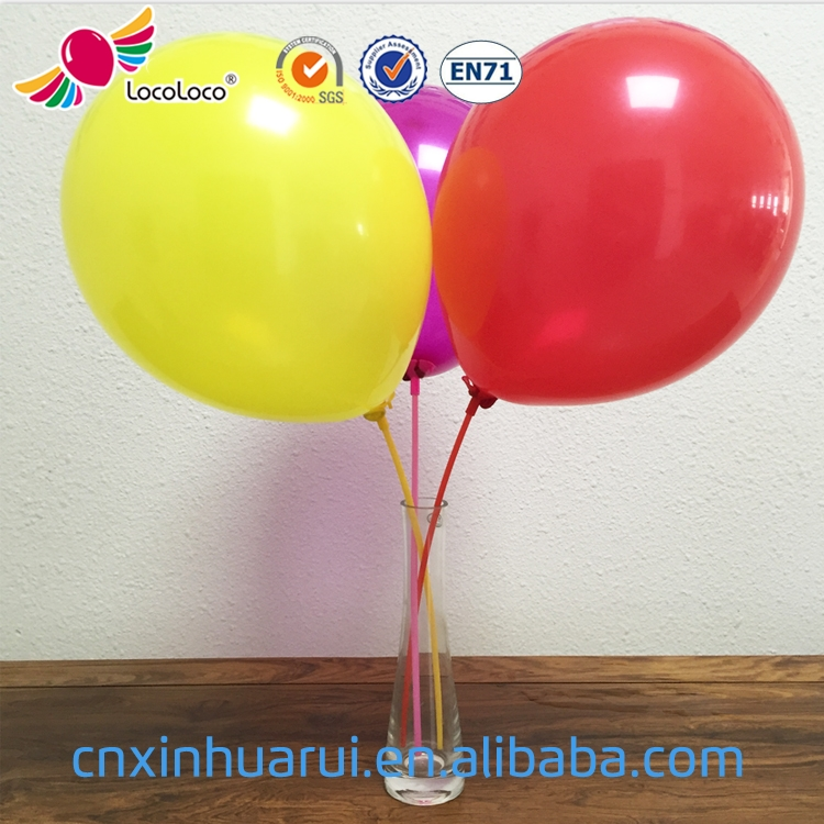 2017 good quality Promotional Customized 10 inch helium balloons wholesale