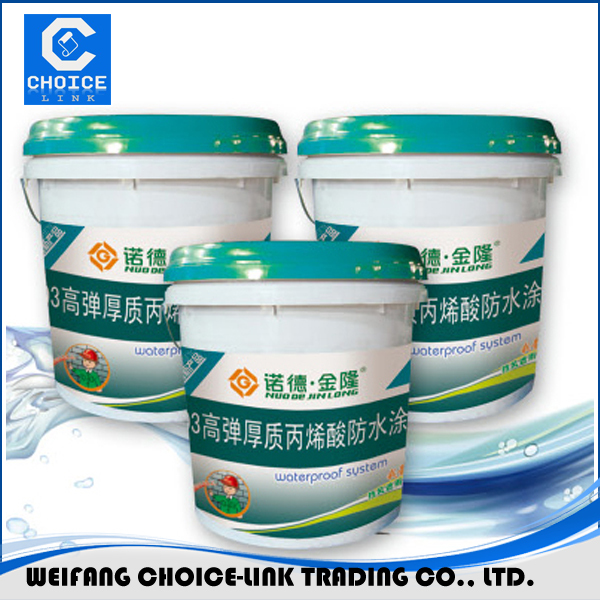 Underground used PU waterproof coating for steel
