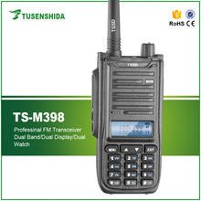 Factory handheld long range indoor or outdoor dualband transceiver radio VHF/UHF waterproof two way mobile radio
