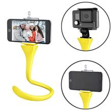Octopus Flexible Tripod Mount & Selfie Stick for iPhone Android Car Headrest Mount tripod mount adapter