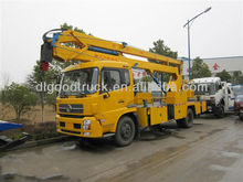 20meters truck mounted aerial working platform
