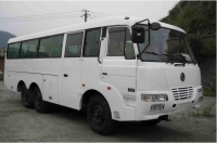Dongfeng EQ6840PT 6x6 off road bus