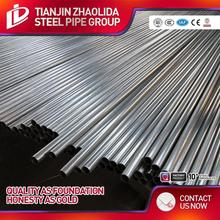 pre steel pipes or tubes/threaded/coulping/pe/tc 25 mm galvanized tube