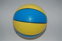 high quality 6' Wholesale rubber mini basketball 1# for kids