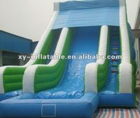 Inflatable Slide Type water slide with plunge pool