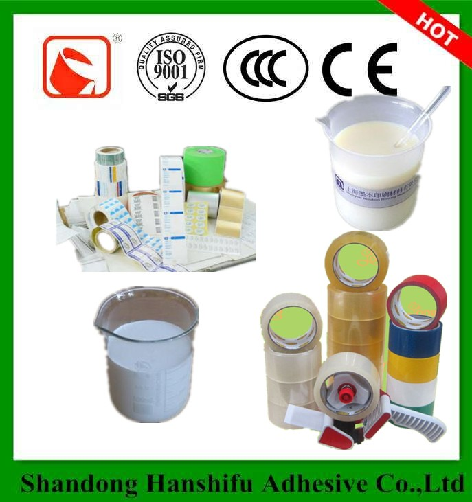 Strong Adhesion Glue Water Based Pressure Sensitive Adhesive for label