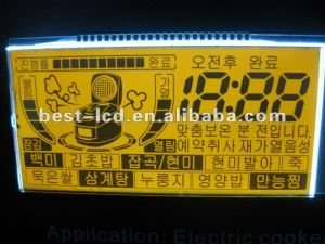 Figure custom Liquid Crystal Display PIN LCD Panel