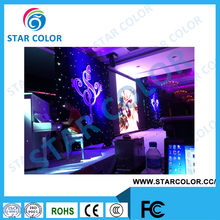 p4 indoor led display screen, full color HD, high gray grade ,video wall