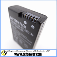 For Nikon D3100 D5100 camera li-ion battery EN-EL14 EN-EL14a