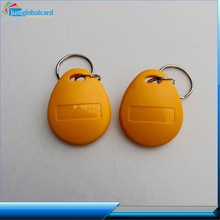 Factory price 125kHz 13.56 mhz RFID Keytag/keyfob made in china