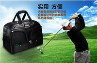 Free Shipping golf clothing shoes bags double shoulder men's golf apparel golf bag