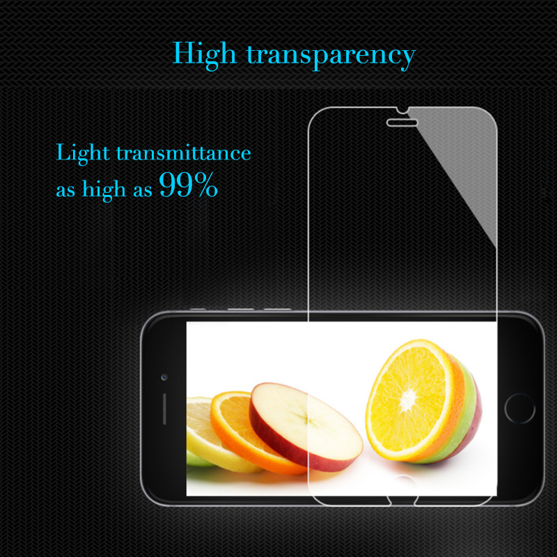 Hot Sold 9H Anti Shockhigh-end retailer package 0.1mm Tempered Glass For Iphone 6 / 6s plus with 4 hours temper hours