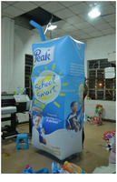 Drink Advertising Inflatable Cartoon,inflatable replicas box,giant inflatable box