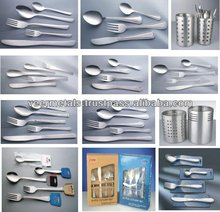 Stainless steel Flatware/cutlery sets/kitchen tool sets