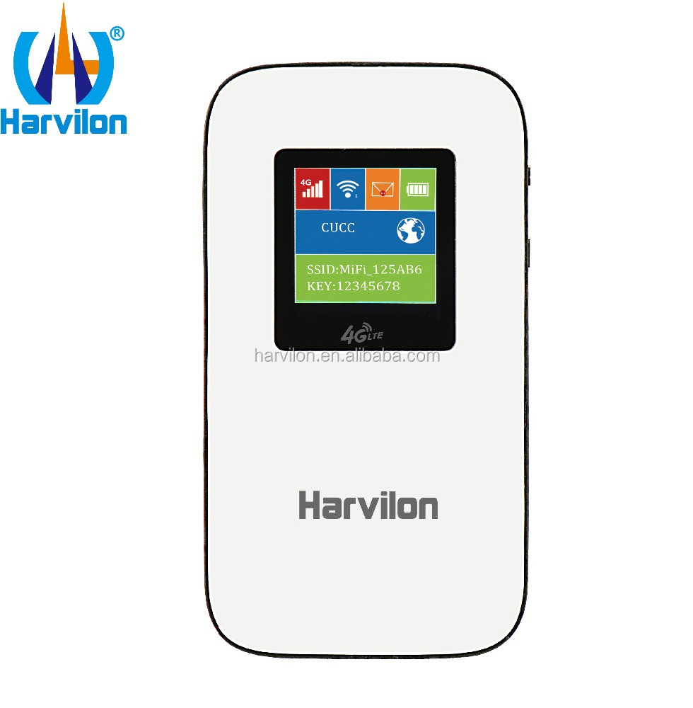 Harvilon ODM/OEM Claro Network 2G 3G 4G LTE Mini Portable USB SIM Card Modem WiFi Router