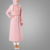 2016 Slim Turkish Tunic With Waist Elegant Islamic Apparel Women New Style Abaya