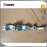 China OEM quick connect pipe clamp with galvanized surface