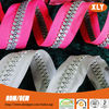 New Designed heavy duty tent zippers made of plastic zipper in long chain for sale