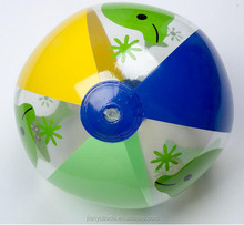 Wholesale eco-friendly PVC Inflatable Beach Ball With Logo Printing