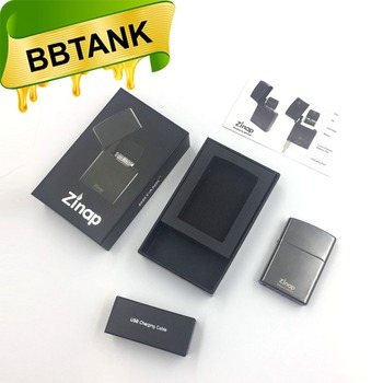 BBtank Original Manufacturer Zinap electric cigarette vaporizer cartridge custom logo available