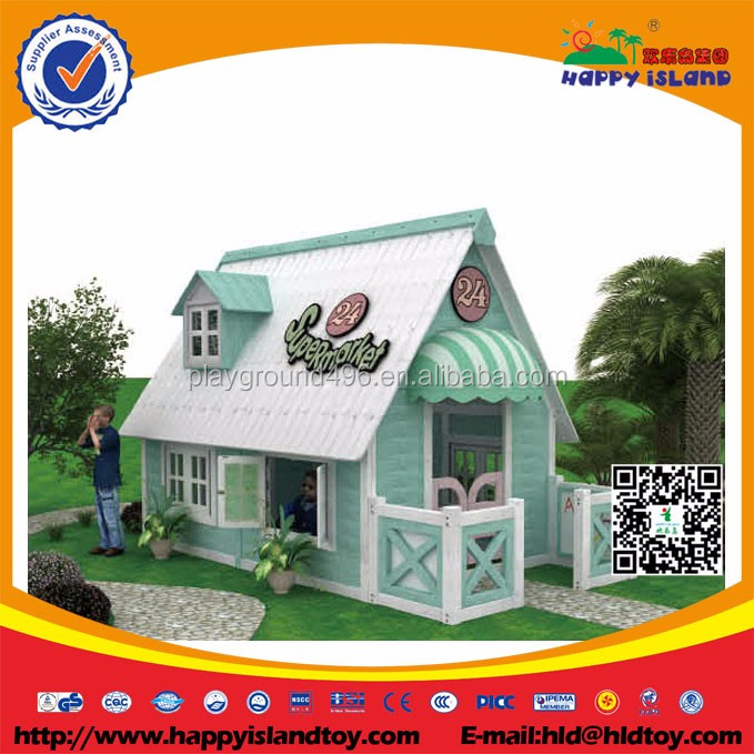 buy kids outdoor wooden playhouse vintage playground eq
