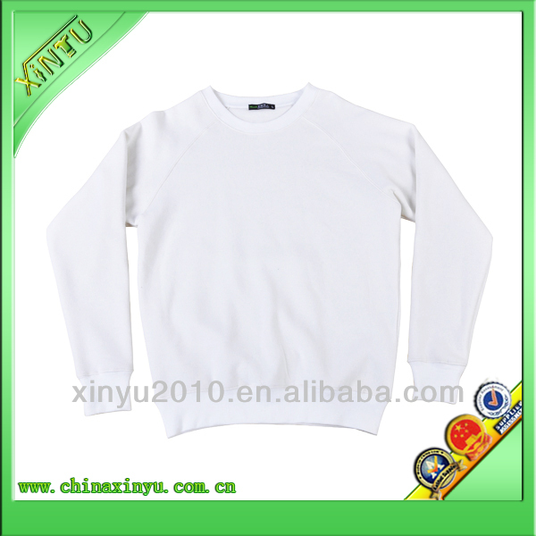 Stylish long sleeve white sweaters plain white sweaters