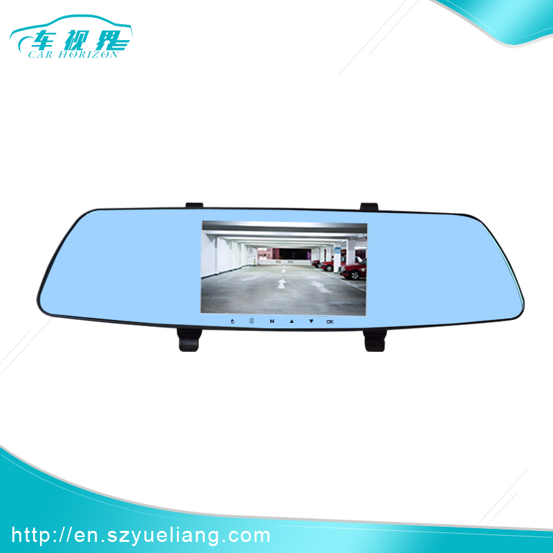 China 2017 new product touch screen rearview mirror 5 gps navigation
