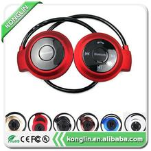 Superior quality high quality sport bluetooth headset waterproof earphone bulk wireless headphone with low price