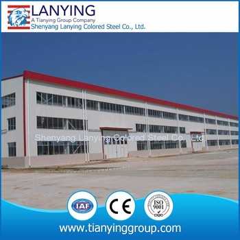 2018 High-quality steel structure construction design steel structure warehouse