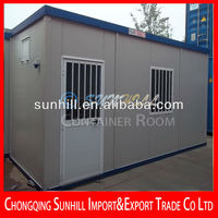 Sunhill Single Layer sandwich panel 20 feet welded living container house