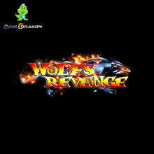 Wolfs Revenge Fish Shooting Video Game,Arcade Fishing Game Gambling Machines Software For Sale